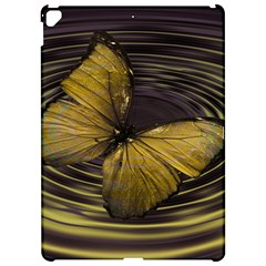 Butterfly Insect Wave Concentric Apple Ipad Pro 12 9   Hardshell Case by Celenk
