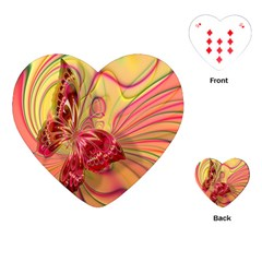 Arrangement Butterfly Aesthetics Playing Cards (heart)