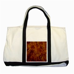Abstract Flames Fire Hot Two Tone Tote Bag by Celenk
