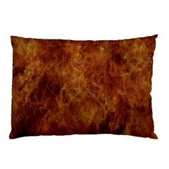 Abstract Flames Fire Hot Pillow Case (two Sides)