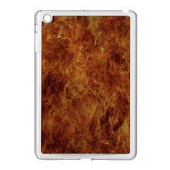 Abstract Flames Fire Hot Apple Ipad Mini Case (white)