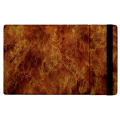 Abstract Flames Fire Hot Apple Ipad Pro 9 7   Flip Case