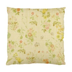 Floral Wallpaper Flowers Vintage Standard Cushion Case (two Sides) by Celenk