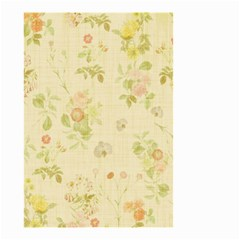 Floral Wallpaper Flowers Vintage Small Garden Flag (two Sides) by Celenk