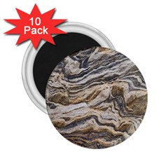Texture Marble Abstract Pattern 2 25  Magnets (10 Pack)