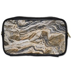 Texture Marble Abstract Pattern Toiletries Bags 2 Side by Celenk