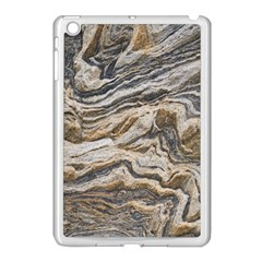 Texture Marble Abstract Pattern Apple Ipad Mini Case (white)