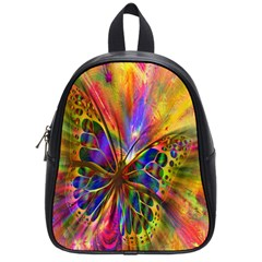 Arrangement Butterfly Aesthetics School Bag (small)