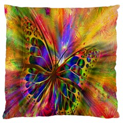 Arrangement Butterfly Aesthetics Large Cushion Case (two Sides) by Celenk