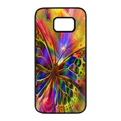 Arrangement Butterfly Aesthetics Samsung Galaxy S7 Edge Black Seamless Case by Celenk