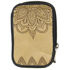 Vintage Background Paper Mandala Compact Camera Cases by Celenk