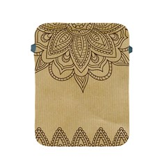 Vintage Background Paper Mandala Apple Ipad 2/3/4 Protective Soft Cases