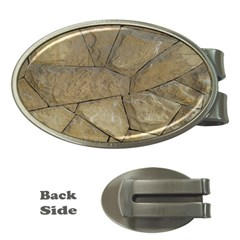 Brick Wall Stone Kennedy Money Clips (oval)
