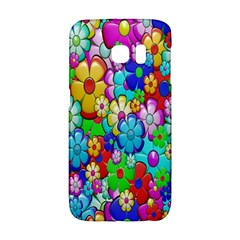 Flowers Ornament Decoration Galaxy S6 Edge by Celenk