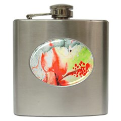 Fabric Texture Softness Textile Hip Flask (6 Oz) by Celenk