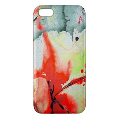 Fabric Texture Softness Textile Iphone 5s/ Se Premium Hardshell Case by Celenk