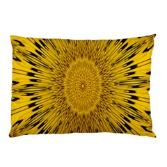 Pattern Petals Pipes Plants Pillow Case (two Sides)