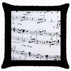 Abuse Background Monochrome My Bits Throw Pillow Case (black) by Celenk