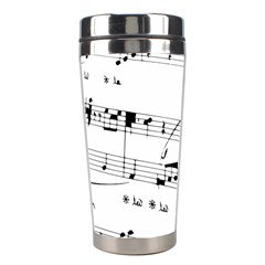 Abuse Background Monochrome My Bits Stainless Steel Travel Tumblers by Celenk