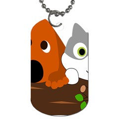 Baby Decoration Cat Dog Stuff Dog Tag (two Sides) by Celenk