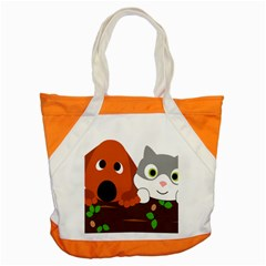 Baby Decoration Cat Dog Stuff Accent Tote Bag by Celenk