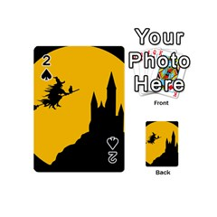 Castle Cat Evil Female Fictional Playing Cards 54 (mini)