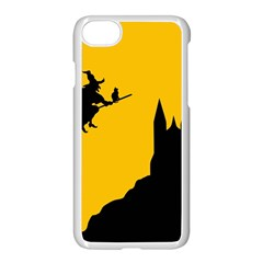 Castle Cat Evil Female Fictional Apple Iphone 8 Seamless Case (white)
