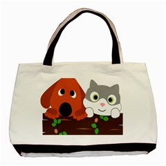 Baby Decoration Cat Dog Stuff Basic Tote Bag by Celenk
