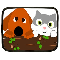 Baby Decoration Cat Dog Stuff Netbook Case (large) by Celenk