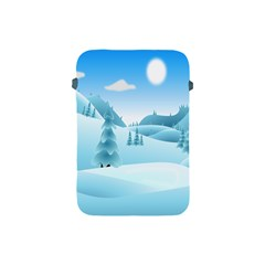 Landscape Winter Ice Cold Xmas Apple Ipad Mini Protective Soft Cases by Celenk