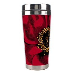 Floral Flower Petal Plant Stainless Steel Travel Tumblers by Celenk