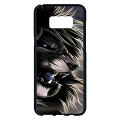 Angry Lion Digital Art Hd Samsung Galaxy S8 Plus Black Seamless Case