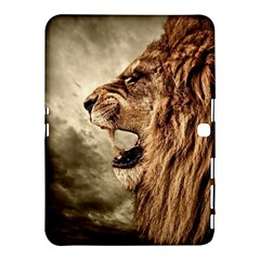 Roaring Lion Samsung Galaxy Tab 4 (10 1 ) Hardshell Case  by Celenk