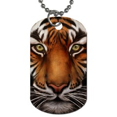 The Tiger Face Dog Tag (two Sides)