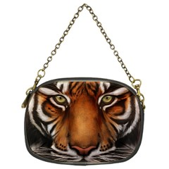 The Tiger Face Chain Purses (two Sides)