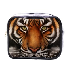 The Tiger Face Mini Toiletries Bags