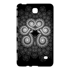 Fractal Filigree Lace Vintage Samsung Galaxy Tab 4 (8 ) Hardshell Case  by Celenk