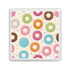 Colored Doughnuts Pattern Memory Card Reader (square)  by allthingseveryday