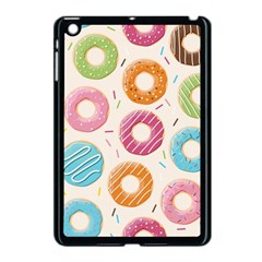 Colored Doughnuts Pattern Apple Ipad Mini Case (black) by allthingseveryday