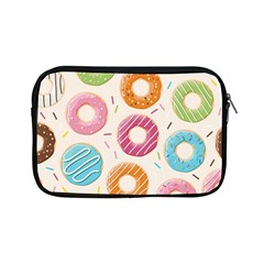 Colored Doughnuts Pattern Apple Ipad Mini Zipper Cases by allthingseveryday