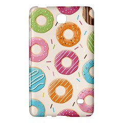 Colored Doughnuts Pattern Samsung Galaxy Tab 4 (8 ) Hardshell Case  by allthingseveryday