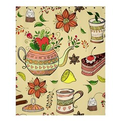 Colored Afternoon Tea Pattern Shower Curtain 60  X 72  (medium)  by allthingseveryday