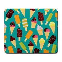 Summer Treats Large Mousepads by allthingseveryday