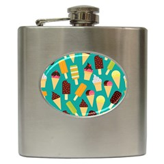Summer Treats Hip Flask (6 Oz) by allthingseveryday