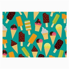 Summer Treats Large Glasses Cloth (2 Side) by allthingseveryday