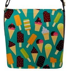Summer Treats Flap Messenger Bag (s) by allthingseveryday