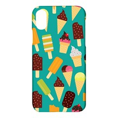 Summer Treats Apple Iphone X Hardshell Case by allthingseveryday