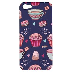 Afternoon Tea And Sweets Apple Iphone 5 Hardshell Case by allthingseveryday