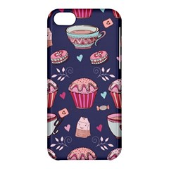 Afternoon Tea And Sweets Apple Iphone 5c Hardshell Case by allthingseveryday