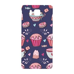 Afternoon Tea And Sweets Samsung Galaxy Alpha Hardshell Back Case by allthingseveryday